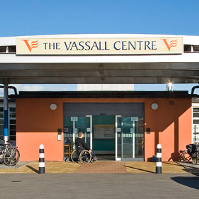 Photo of the Vassall centre entrance