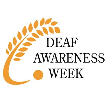 Deaf Awareness Week logo